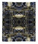 Connections 3 Fleece Blanket