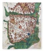 Constantinople, 1420 Fleece Blanket