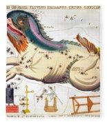 Constellation: Cetus Fleece Blanket