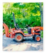 Construction Machinery Equipment 1 Fleece Blanket