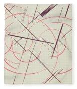 Constructivist Composition, 1922 Fleece Blanket