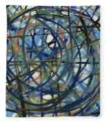 Contemporary Art Seventeen Fleece Blanket