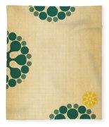 Contemporary Dandelions 1 Part 3 Of 3 Fleece Blanket
