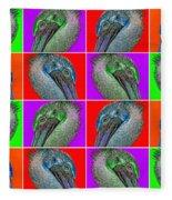 Contemporary Pelicans II Fleece Blanket
