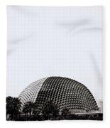 Contemporary Singapore Fleece Blanket