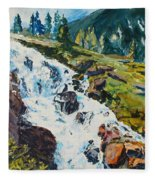 Continental Falls Fleece Blanket