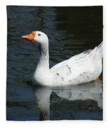 Contrasting Goose Fleece Blanket
