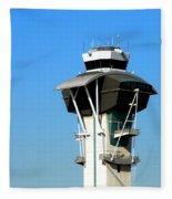 Control Tower Fleece Blanket