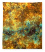 Contusion-01 Fleece Blanket