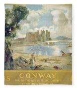 Conway Castle Fleece Blanket