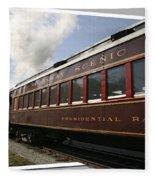Conway Scenic Railway Fleece Blanket