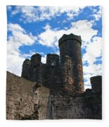 Conwy Castle Fleece Blanket