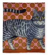 Cookie Cat Fleece Blanket