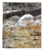 Cool Ice Form Fleece Blanket
