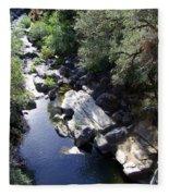 Cool Mountain Creek Fleece Blanket