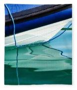 Cool Ocean Blues Fleece Blanket