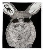 Cool Rabbit Fleece Blanket