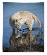 Cooling Off Fleece Blanket