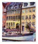 Copenhagen Fleece Blanket