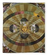 Copernican Universe Fleece Blanket
