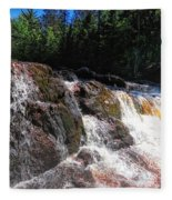 Copper Falls Fleece Blanket