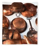 Copper - Featured In Inanimate Objects Group Fleece Blanket
