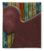 Copper Man Fleece Blanket
