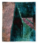 Copper Plate Fleece Blanket