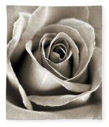 Copper Rose Fleece Blanket