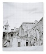 Coptic Jerusalem Fleece Blanket