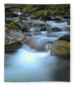 Coquihalla River 2 Fleece Blanket
