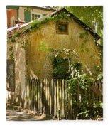 Coquina House Fleece Blanket