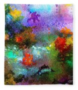Coral Reef Impression 1 Fleece Blanket