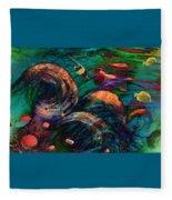 Coral Reef 2 Fleece Blanket