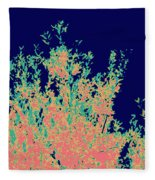 Coral Reef Abstract Fleece Blanket