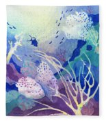 Coral Reef Dreams 4 Fleece Blanket