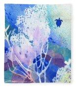 Coral Reef Dreams 5 Fleece Blanket