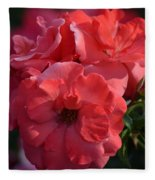 Coral Roses 2013 Fleece Blanket