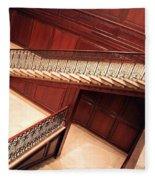 Corcoran Gallery Staircase Fleece Blanket