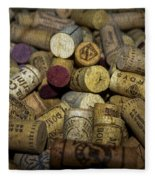 Corks Fleece Blanket