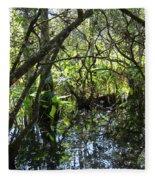 Corkscrew Swamp 3 Fleece Blanket