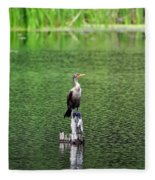Cormorant Chilling Fleece Blanket