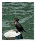 Cormorant Fleece Blanket