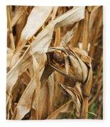 Corn On The Cob Fleece Blanket