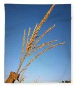 Corn Tassel Fleece Blanket