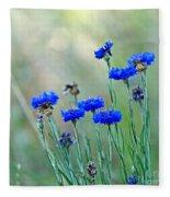 Cornflowers Fleece Blanket