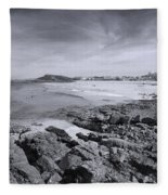 Cornwall Coastline 2 Fleece Blanket