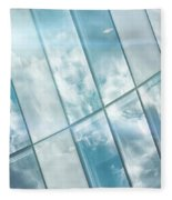 Corporate Flare Reflection Fleece Blanket
