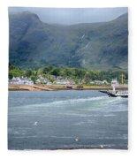 Corran Ferry Fleece Blanket