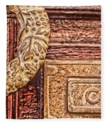 Correo In San Miguel De Allende Fleece Blanket